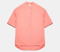 Übergroßes Hemd aus Baumwollpopeline