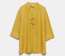 Tunika-Hemd aus leichtem Leinen