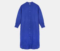 Hemdkleid aus buntem Leinen