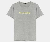 T-Shirt mit SILENZIO-Print