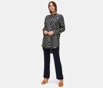 Hemd aus bedrucktem Seidentwill