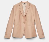 Jacke aus kompaktem Baumwollcanvas