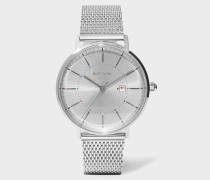 Unisex Stainless Steel 'Petit Track' Watch