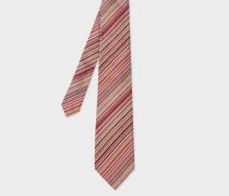 Signature Stripe Silk Tie