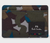 Camouflage Canvas Card Holder