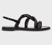 Black Suede 'Carlin' Sandals