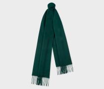 Dark Green Cashmere Scarf
