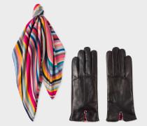 'Swirl' Gloves And Neckerchief Box Set