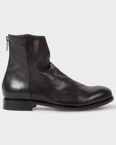 Paul Smith Herren Dip-Dyed Black Calf Leather 'Jean' Boots Preiswerte Neue Verkauf Vermarktbare Mit Kreditkarte Online Verkauf Verkauf Online Kaufen VFD3yd3n