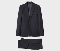 The Soho - Tailored-Fit Dark Navy Wool-Mohair Suit