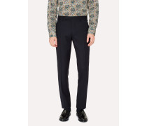 A Suit To Travel In - Slim-Fit Navy Wool Trousers