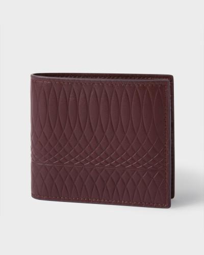 No.9 - Damson Leather Billfold Wallet