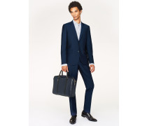 The Soho - Tailored-Fit Blue Wool-Mohair Suit