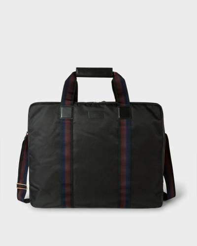 Paul Smith Herren Black Webbing Stripe Suit Carrier Spielraum Shop Verkauf Veröffentlichungstermine Günstig Kaufen Lohn Mit Paypal Kostengünstig Günstig Kaufen 2018 Ztn7jXVRCO