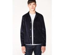 Dark Navy Corduroy Chore Jacket