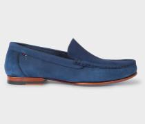 Navy Nubuck 'Danny' Loafers