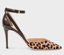 Leopard Print Calf Hair 'Naomi' Shoes