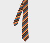 'Bright Stripe' Narrow Silk Tie