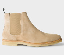 Taupe Suede 'Andy' Chelsea Boots