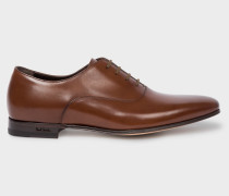 Dark Tan 'Fleming' Leather Oxford Shoes