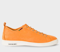 Orange Nubuck 'Miyata' Trainers