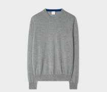 Grey Marl Cashmere Sweater