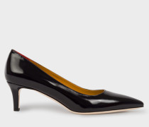 Navy Calf Leather 'Blanca' Shoes