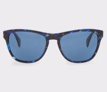 Confetti Blue 'Hoban' Sunglasses
