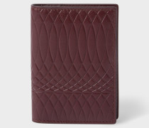 No.9 - Damson Leather Credit Card Wallet