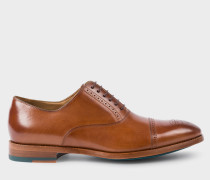 Tan Calf Leather 'Bertin' Brogues