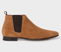 Tan Suede 'Marlowe' Chelsea Boots