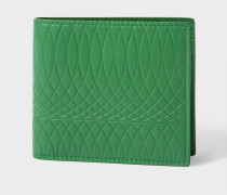 No.9 - Green Leather Billfold Wallet