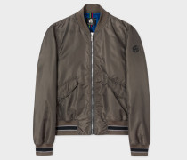 Slate Grey Bomber Jacket