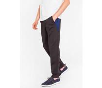 Black Sweatpants With Side Panels