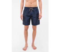 Navy Long Swim Shorts