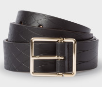 No.9 - Black Leather Belt