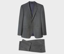 The Byard - Tailored-Fit Dark Grey Wool Suit