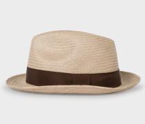 Stone Panama Straw Hat