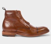 Dip-Dyed Tan Calf Leather 'Jarman' Boots