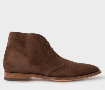 Brown Suede 'Cash' Boots