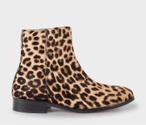Leopard Print Calf Hair 'Brooklyn' Boots