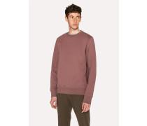 Mauve Organic-Cotton Sweatshirt