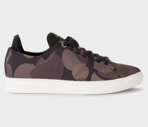 Camouflage Canvas 'Sonix' Trainers