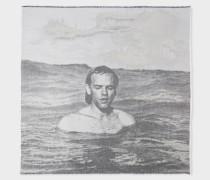 R.E.M. + - 'Michael Stipe, Miami 1992' Photograph Jacquard Scarf