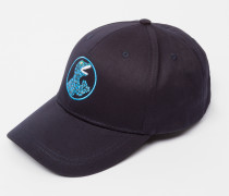Navy 'Dino' Cotton Baseball Cap