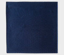 Navy Silk Pocket Square