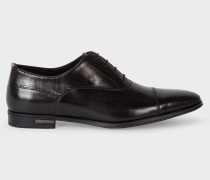 Black Leather 'Morton' Oxford Shoes