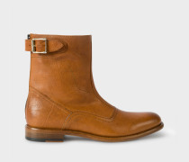 Tan Leather 'Thunder' Boots