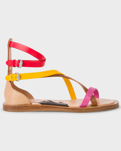 Manchester Zum Verkauf Paul Smith Damen Multi-Coloured Vachetta Leather 'Margie' Sandals Steckdose Zahlen Mit Paypal Erschwinglich Verkauf Schnelle Lieferung Spielraum 2018 Neu rrwPVkKo