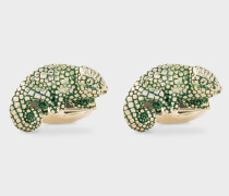 Green Chameleon Cufflinks